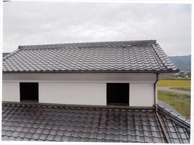 矢掛町 雨漏り修理 漆喰補修