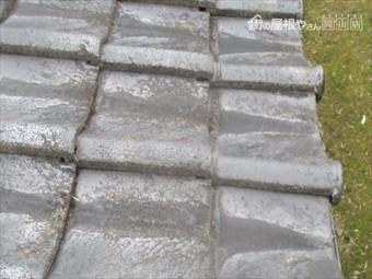 津山市で屋根修理 棟補修工事