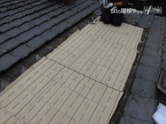 倉敷市 下葺き材の防水紙ルーフィング 東和合成の東和ルーフ