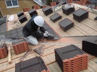 岡山市南区 2階平板工事