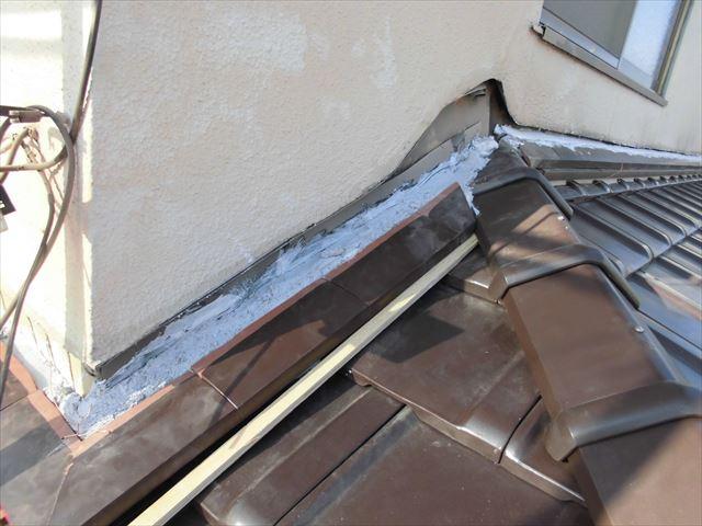 岡山市南区 際熨斗南蛮漆喰シルガードを使用