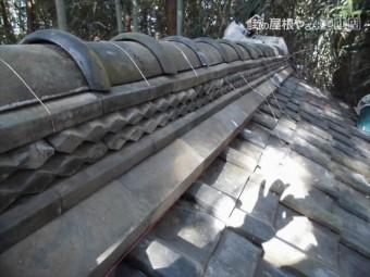 井原市 屋根工事 雨漏り修理 棟積み直し