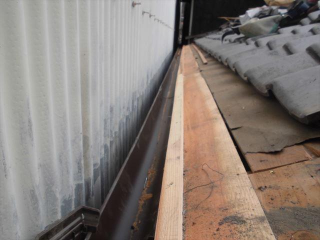 倉敷市 屋根補修工事 屋根を短くします。