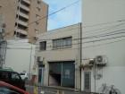岡山市北区 陸屋根 屋上のゴミ処理