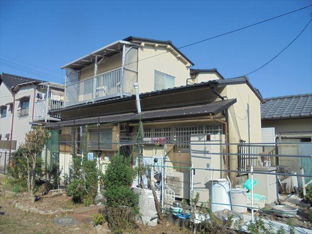 岡山市中区でスレート瓦が割れているので見てほしいと調査依頼!