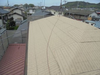岡山市南区 破れない防水紙