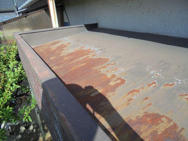 岡山市中区 カバー工法 玄関ポーチ