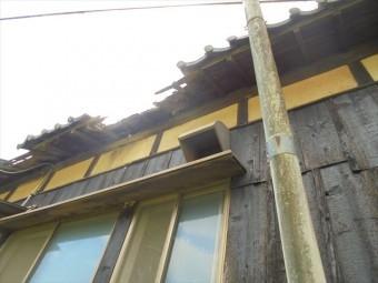 岡山市東区で雨漏り修理 瓦欠落
