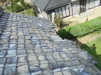 岡山市東区 瓦葺き替え 雨漏り修理