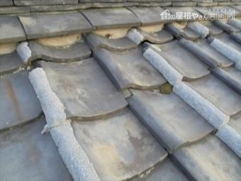 岡山市中区 雨漏り修理 突き上げ調整 工事語
