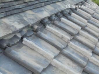 岡山市中区 雨漏り修理 工事前