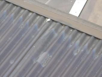 岡山市南区 漆喰補修工事 急こう配 漆喰欠落
