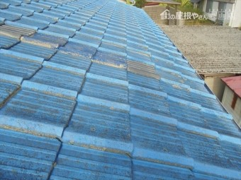 岡山市南区 雨漏り修理 前回の工事