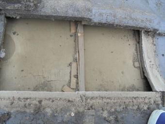 倉敷市で雨漏り修理 防水紙の劣化