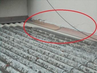 倉敷市 雨漏り修理 スレート劣化