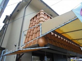 岡山市北区 屋根工事 漆喰補修