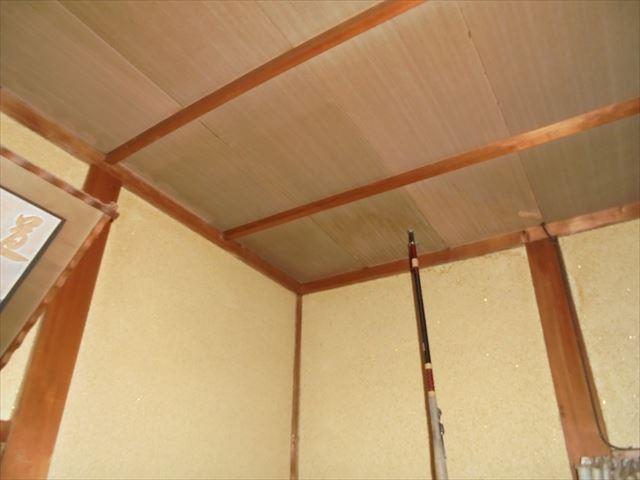 玉野市 雨漏り調査 天井にシミ
