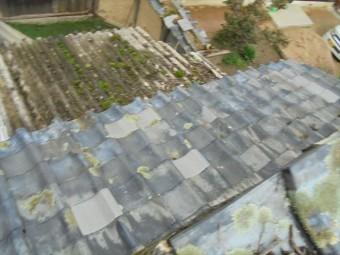 岡山市東区 雨漏り修理  屋根瓦補修工事 工事後