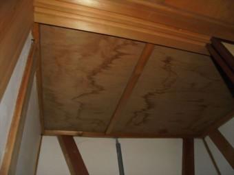 倉敷市 雨漏り修理 天井にシミ
