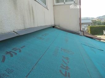 倉敷市 雨漏り修理 屋根リフォーム 防水紙(ルーフィング)