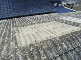 岡山市南区 太陽熱温水器撤去
