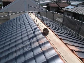 岡山市南区 屋根工事 屋根リフォーム 大屋ね瓦工事
