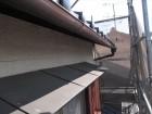 岡山市南区 屋根工事 小庇取り替え工・雨どい取り換え工事