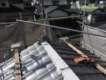 岡山市南区 屋根工事 屋根リフォーム 南蛮漆喰