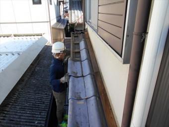 玉野市でセキスイかわらUの補修工事