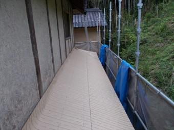 屋根工事 屋根リフォーム 防水紙のルーフィング