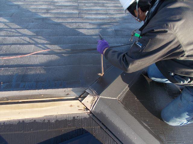 岡山市中区 カバー工法 屋根瓦葺き替え工事