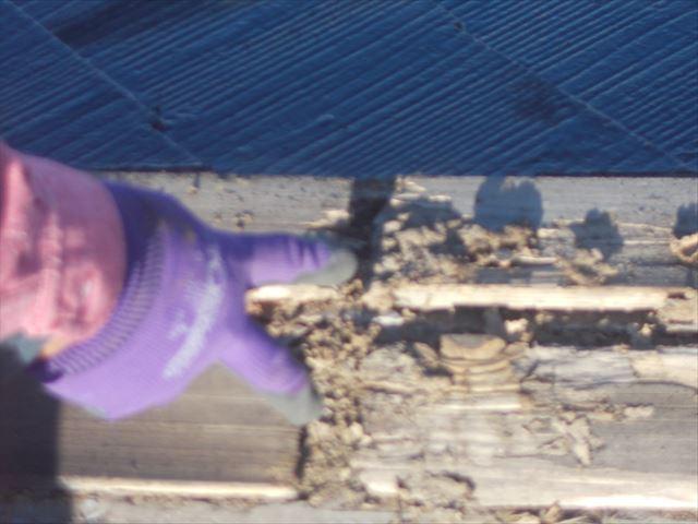 岡山市中区 屋根リフォーム工事 カバー工法 材料搬入