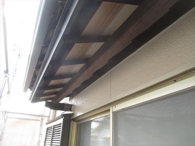 岡山市南区 屋根工事 屋根リフォーム 化粧野地取り替え