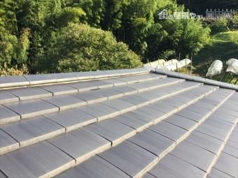 岡山県瀬戸内市 屋根修理 隅棟解体組み立て