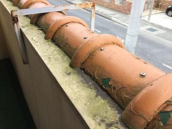 岡山市北区 瓦補修工事 ビスうち替え 完成です。