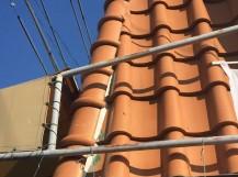 岡山市北区 屋根修理 棟積み直し工事