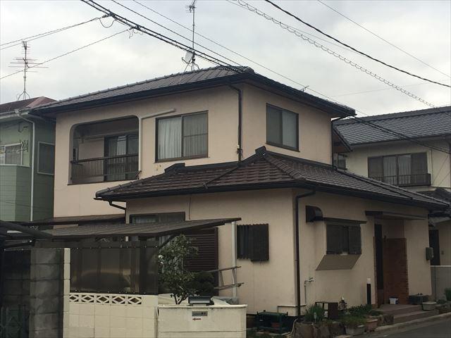 岡山市南区 屋根工事完成です。