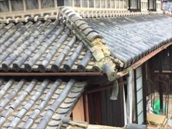 岡山市東区 屋根修理です