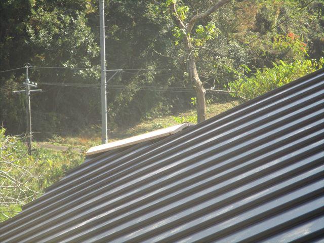 岡山県美咲町 屋根工事 ガルバリウム鋼板の屋根