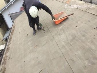 岡山市北区 屋根工事 雨漏り修理 屋根の掃除