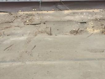 岡山市北区 屋根工事 雨漏り修理 釘処理