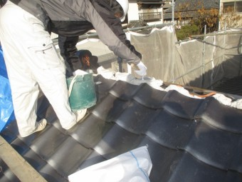 備前市 1階棟工事南蛮漆喰を使います