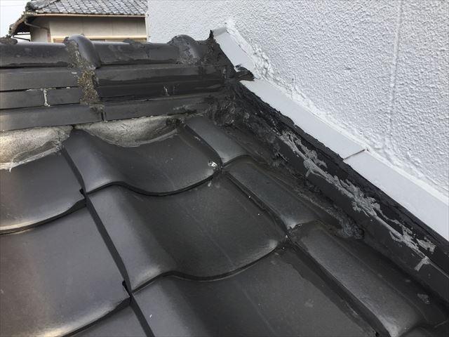 岡山市北区 屋根工事 雨漏り修理 雨漏りの場所