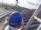 岡山市南区で雨どい点検