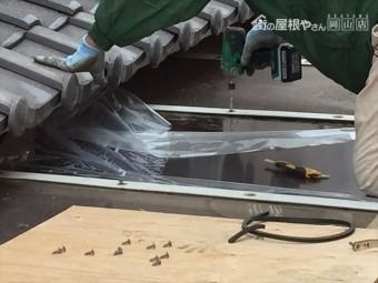 岡山市南区 カーポートの屋根修理 ポリカーポネート取付け