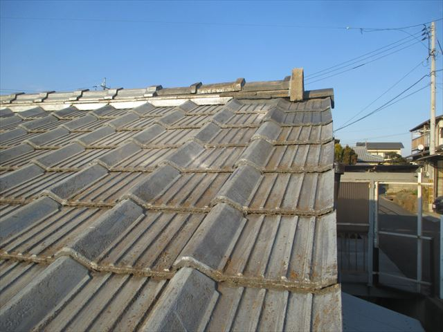 倉敷市 屋根修理 棟瓦補修工事