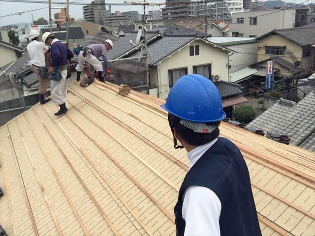 岡山市北区 屋根工事 屋根リフォーム 点検