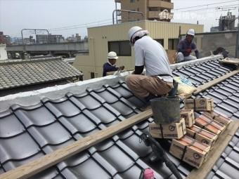 岡山市北区 屋根工事 屋根リフォーム 棟の基礎