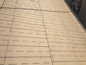 岡山市南区 屋根工事 雨漏り修理 ルーフィング張り替え工事