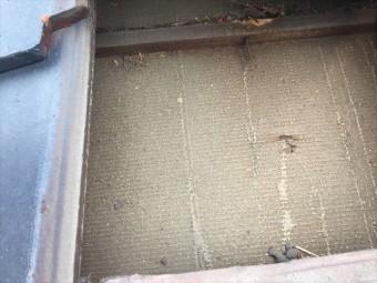 玉野市 屋根修理瓦をめくってみました
